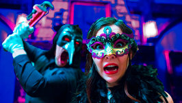 Terrifying Masquerade Party in 3D 360