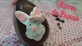 Huevo De Pascua  Conejo De Fondant  Como Hacer Huevo De Pascua  Huevos De Pascua