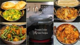 Quick Dry Sabzis in Pressure Cooker Tips Tricks  Dry Sabji