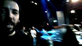 Passagem de som no show de Tributo a James Brown