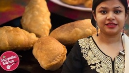 Karanji Recipe For Holi - (Flaky Pastry With Dry Sweet Filling) - Sharmilazkitchen