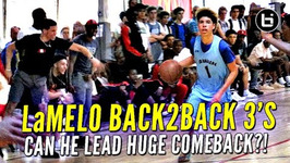 Down 30 At The Half Again, Can LaMelo Ball Lead Comeback
