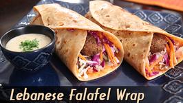 Lebanese Falafel Wrap  Easy To Make Wrap Recipe  Ruchi Unboxes With Bajaj Electricals