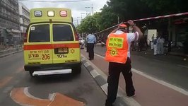 Emergency Services on Scene After Policeman Stabbed in Netanya