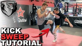 How to Sweep your Opponent with Muay Thai Low Kick