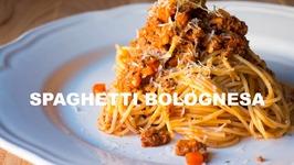 Espaghetis Bolognesa La Autentica Receta Italiana - Receta Grabada Con Una Go Pro