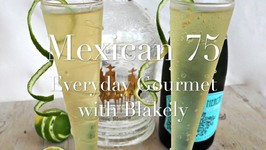 Cocktail Recipe- Mexican 75