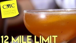 The 12 Mile Limit Cocktail- Rum, Rye And Brandy In A Cocktail?