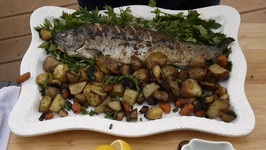 Game On! How To Grill Trout Stuffed With Wild Leeks
