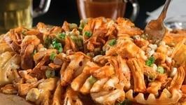 How To Make Richmond Raceway Buffalo Chicken Waffle Fries