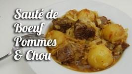 Sauté De Boeuf Pommes Et Chou