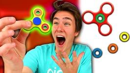 DIY 4 Fidget Spinner