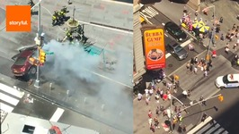 Car Ploughs Into Crowds at Times Square