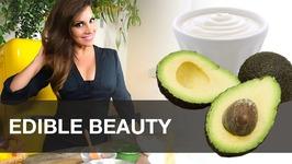 Edible Beauty - The California Avocado Mask For Glowing Skin - Diy Skincare