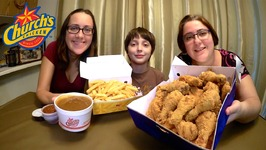 Church's Chicken  Gay Family Mukbang - Eating Show