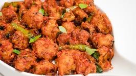 Gobi 65  Street Style Hyderabadi Crunchy Gobhi Cauliflower 65