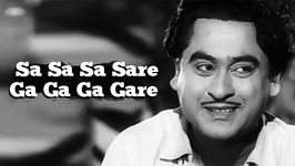 Sa Sa Sa Sare Ga Ga Ga Gare - Kishore Kumar and Asha Bhosle Hit Songs - S D Burman Songs