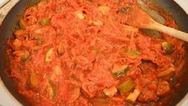 Tomato And Zucchini Pasta Sauce