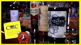 5 Spiced Rum Reviews In 5 Minutes Kraken, Private Stock, Sailor Jerry, Oakheart, Don Q
