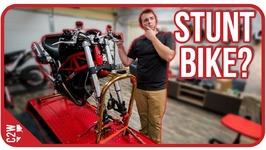 Making a Ducati Monster Stunt bike - Wrecked Bike Rebuild - Ep 08 - Ducati Monster 1100