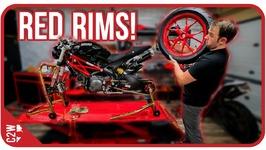 Finally Getting The Wheels Back - Wrecked Bike Rebuild - Ep 10 - Ducati Monster