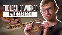 Kyle the Leatherworker  Meet the Makers
