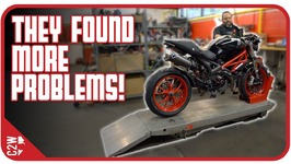 I took the Monster to the shop - Wrecked Bike Rebuild - Ep 13 - Ducati Monster