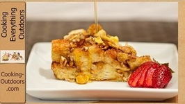 Dutch Oven French Toast Monkey Bread Style