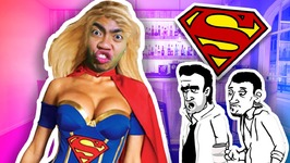 SUPERWOMAN IN DISGUISE - Whack The Creeps