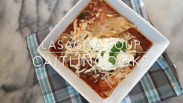 Easiest Lasagna Soup Ever