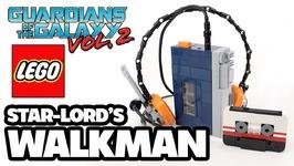 Star-Lord's Sony Walkman w- Headphones made from LEGO