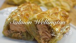 Salmon Al Horno En Hojaldre  Salmon Wellington  Recetas De Salmon Al Horno Con Patatas