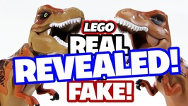 REVEALED - Real or Fake - LEGO T-Rex Dinosaurs