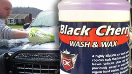 DETAIL KING - Black Cherry Wash and Wax FULL REVIEW and FULL RESULTS - Auto Detailing Videos