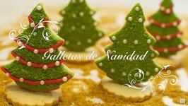 Galletas De Navidad Decoradas  Galletas De Mantequilla  Galletas Para Hacer Con Ninos