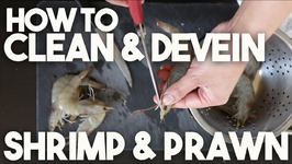 How to clean and DEVEIN head and shell on SHRIMP