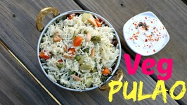 Vegetable Pulao  One Pot Indian Lunch Dinner