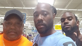 Know Cash, Chris And Pops Inside Of Wal-Mart In Miami Florida
