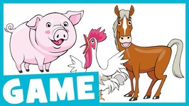 Learn Farm Animals - What Is It- Game for Kids
