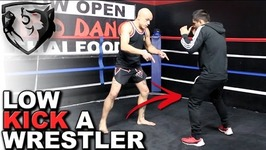 How to Low Kick a Wrestler in MMA - Without Getting Leg Caught