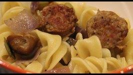 Sausage  Zaycon Sausage With Noodles
