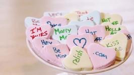Homemade Conversation Hearts