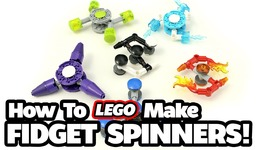 How to Make 6 Different LEGO Fidget Spinners