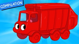 My Red Garbage Truck - Morphle compilation - Episode - 28