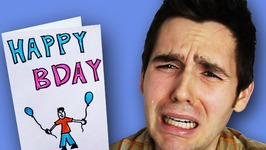 Birthday Card Makes Boy Cry