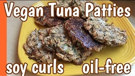 Wannabe Tuna Cakes Made With Soy Curls