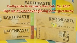 Free Giveaway - Natural Earthpaste Toothpaste