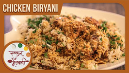 Chicken Biryani Recipe by Archana - Simple and Quick - Restaurant Style in Marathi