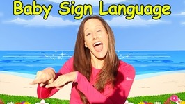 Baby Language Song  ASL, Basic Words and Commands