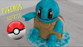 Como Hacer Tarta Pokemon Go (Squirtle)  Torta De Pokemon  Pastel De Pokemon  Tortas De Pokemon